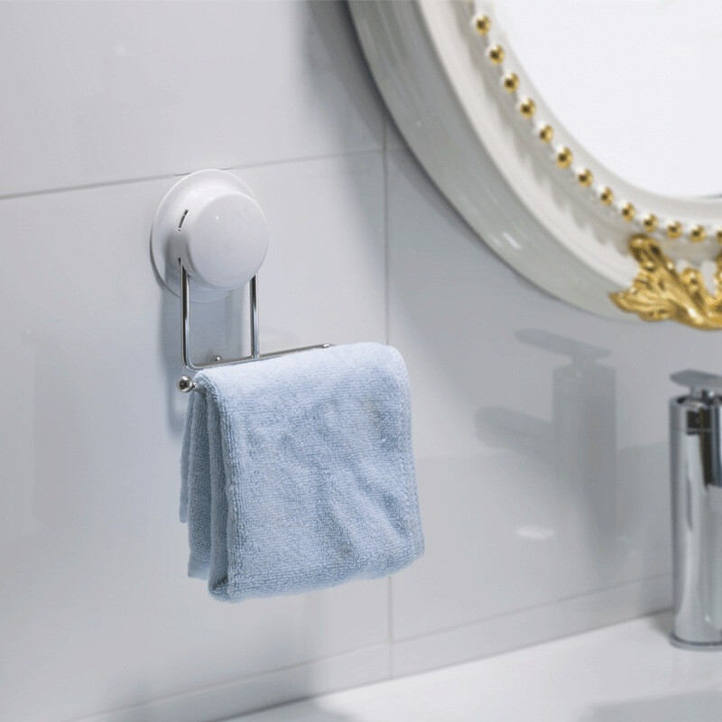 Towel holders for bathrooms