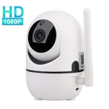 webcams-1080P Cloud IP Camera Home Security Surveillance Camera Auto Tracking Network WiFi Camera Wireless CCTV Camera on JD
