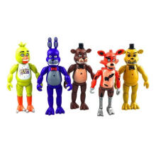 5pcs/Set Five Nights at Freddy's Action Figures Toys Collection Kids Xmas Gift