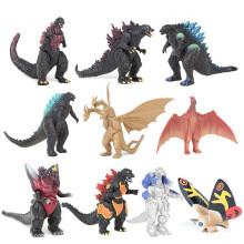 story 10Pcs/ Set Mechagodzilla Gigan Anguirus Action Figure PVC Gift Toys