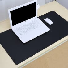 mouse-pads-PU Leather Mouse Pad Double-sided Mat Waterproof Non-slip Big Size Computer Desk Mat for PC Laptop Mouse Office Use on JD