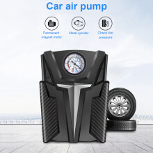 Digital Tire Inflator Portable Air Compressor for Car Bicycles Motorcycle Tires Basktball 12V