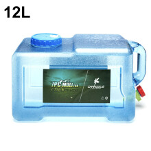Plastic Water Bottle  Reusable Water Jug Container Transparent for Outdoors Car Travel