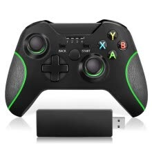 other-parts-New 2.4G Wireless Controller Enhanced Gamepad For Xbox One/ One S/ One X/ One Elite/ PS3/ Windows 10 | Dual Vibration hot on JD