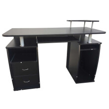 Computer Desk with Drawers Writing Table Office Study Home Gaming Desk Workstation Laptop Table