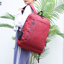 Student Backpack New Outdoor Leisure Backpacks USB Multifunction Computer Bag