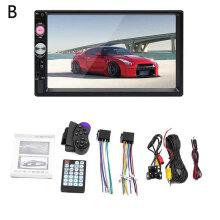 Car Audio Video HD 7 Inch MP4 MP5 Player Bluetooth Handsfree FM Card Insert Media Broadcast Player