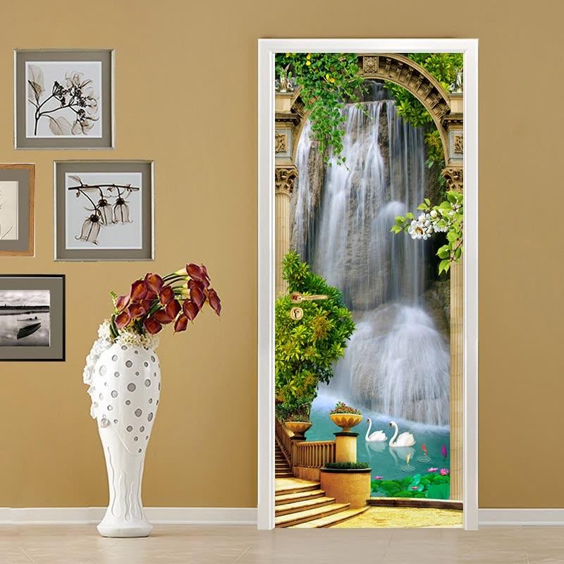 часто бывает, фотообои на двери дорфлекс растущую популярность, трайбл