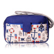 Women Messenger Bags Shoulder Bag Mediterranean Canvas Bag Leisure Retro