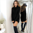 2018 New Women Turtleneck Sweater Knitwear Shikt Long Sleeve Pullover