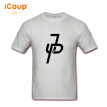 iCoup Men's Jake Paul JP Cotton T-Shirt anime novelty design High Quality