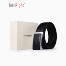 INTERIGHT men's leather belt, automatic buckle