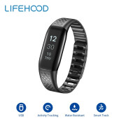 Versión global Lifesense MAMBO Smart Band sport Pulsera Upgrade Llamada Remin Waterproof Smartband