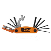 Tournament 8002 Bicycle Repair Combination Tool Mountain Road Car Multi-function Portable Vehicle Tool Kit Cycling Equipment Accessories