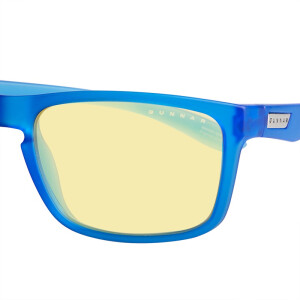 GUNNAR Intercept Deep Cobalt Blue Mirror Amber Lens Radiation Anti Blue Light Eyewear