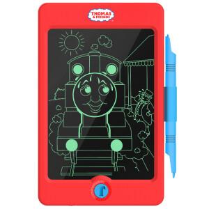 Thomas and friends (THOMAS & FRIENDS) smart LCD tablet TH1703 electronic graffiti light small blackboard children's drawing board 8.5 inches yellow