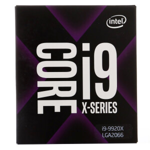 Intel i9-9920X Core 12 core boxed CPU processor