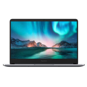 Glory MagicBook 2019 14-inch thin and thin border laptop (AMD Ruilong 5 3500U 8G 512G FHD IPS fingerprint Office) starry gray