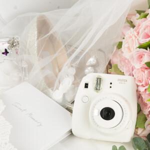 Fuji once imaging camera (instax) mini9 camera (mini8 upgrade) pure white gift box