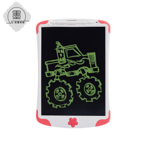 Ink pick-up LCD handwriting board electronic drawing board hand-painted board drawing board children's writing board light energy small blackboard 10 inch pink