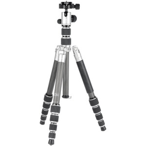 Beno IC09T Reversible Variable Monopod Carbon Fiber Tripod PTZ Set SLR Micro Single Camera Lightweight Portable