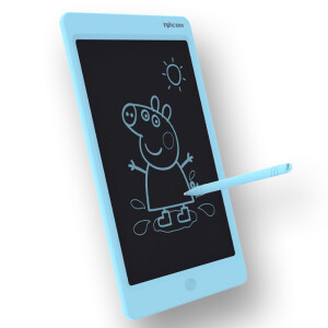INPHIC C1 LCD pen tablet writing board drawing board graffiti board draft children's toys small blackboard 10 inch Tiffany blue self-operated