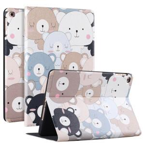 STFFER Apple iPad Mini5 Cover mini5 generation protective shell smart sleep all-inclusive anti-fall cartoon models – cute bear