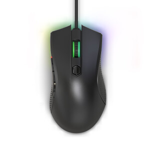 Lenovo (Lenovo) wired mouse gaming mouse savior gaming mouse HEADSHOT Jedi survival right hand ergonomics eating chicken / CS: GO / watch / fortress night