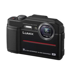 Panasonic TS7 black waterproof sports camera / five anti-camera waterproof, dustproof, shockproof, antifreeze, anti-pressure, 4K, WIFI Zhilian