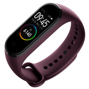 Xiaomi MI band 4 AI color screen heart rate sports bracelet swimming posture recognition 50 meters waterproof 6 axis red