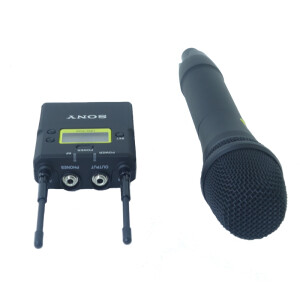 Sony (SONY) Sony wireless handheld microphone UWP-D12