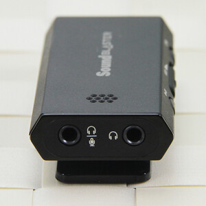 Creative Sound Blaster E1 amp HD portable headphone amplifier external sound card dual headphone jack