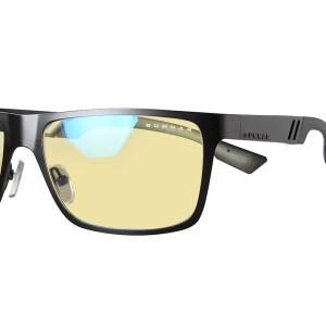 GUNNAR Vinyl agate black frame amber lens anti-radiation anti-blue glasses