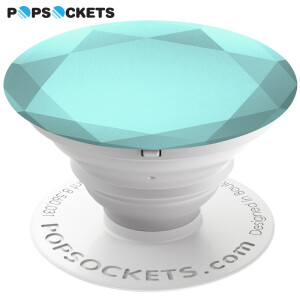 PopSockets Bubble show retractable cell phone balloon anchor fashion Dodo shaking artifact creative anti-drop plate ring buckle accessories Diamond Sapphire