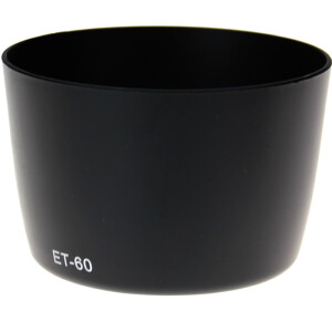 Good weather Canon ET-60 58mm hood can be buckle for 55-250mm 75-300mm 90-300mm lens