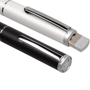 Kaguan N33 Metal Case PPT Page/Page Turn/Laser Pen Page/Pen Pen (White)