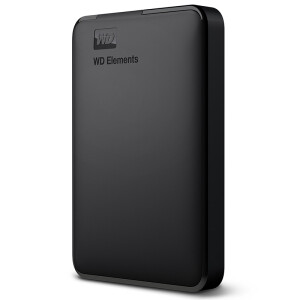 Western Digital (WD) Elements New Element Series 2.5-inch USB3.0 Mobile Hard Drive 500G (WDBUZG5000ABK)