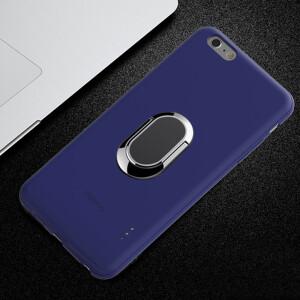 Kaleido Kaleido Gemini Double Cartoon Mobile Shell Apple Card Dual Card Dual Standart Artifact Ring Version Applicable to iphone6s plus Blue