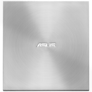ASUS 8x USB2.0 External DVD Recorder Mobile Optical Drive Silver (Compatible with Apple System/SDRW-08U7M-U)