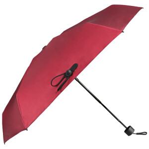 BLACK LEmon light small umbrella female dual-use solid color anti-UV sunscreen umbrella folding black plastic umbrella nano chi