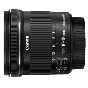 Canon (Canon) EF-S 10-18mm f / 4.5-5.6 IS STM wide-angle zoom lens