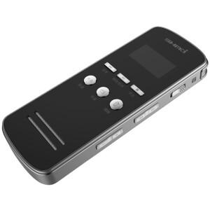 LMS (SHMCI) D40 recording pen professional long long-range high-definition noise reduction genuine MP3 player 8G black