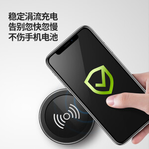 Anker Anke Apple X Wireless Charger iPhone8/8plus Phone exquisite support Android millet MIX2S Samsung S9/S8/S7 edge Universal Black