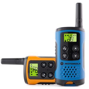 [Two loaded] Motorola T40 free licensed walkie-talkie