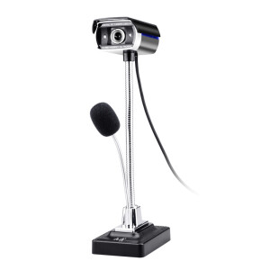 Austrian ASHU F11pro enhanced version of the high-definition network computer camera with a microphone USB monitor night vision can do night light black