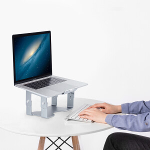 Will be beautiful (BUBM) aluminum notebook stand can be rotated to increase the protection of the cervical vertebra desktop computer radiator bracket for Apple millet DNZJ-01