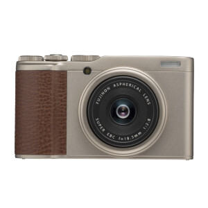 Fuji (FUJIFILM) XF10 APS-C digital camera / card machine champagne gold 18.5mm Fuji fixed focus lens 24.2 million pixels WIFI 4K compact and portable