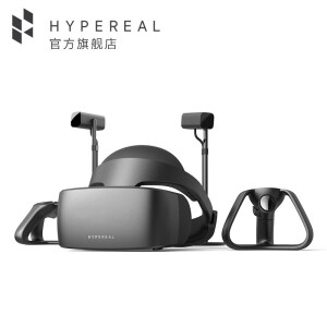 HYPEREAL Pano [Double camera 240° suit] HYPEREAL Pano VR glasses high-end VR head space game watching movie black