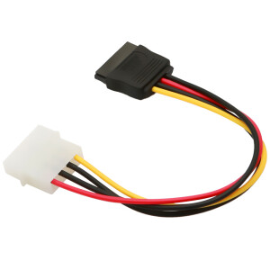 Shanze (SAMZHE) UK-20 D-type 4-pin to SATA serial hard drive power cord 0.2 meters