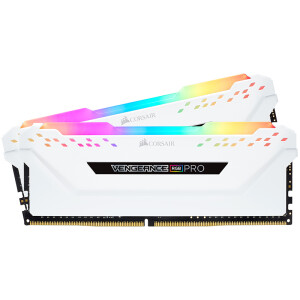 USCORSAIR Avengers RGB PRO Light Bar DDR4 3200 16GB (8Gx2) Desktop Memory White